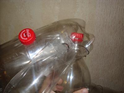Как сделать барашку из пластиковой бутылки