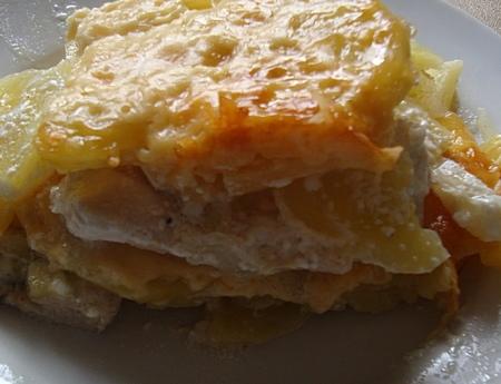 Рецепт картофельной запеканки с курицей в духовке