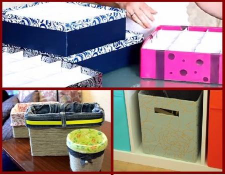 Коробочки для хранения вещей