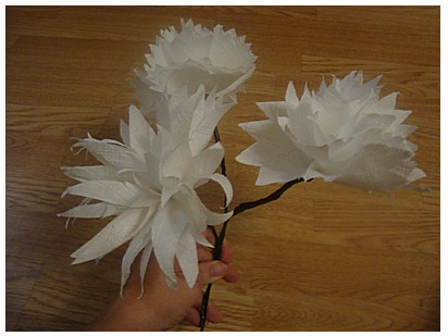 Поделки из салфеток цветы