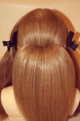 Прическа на длинные волосы своими руками пошаговая