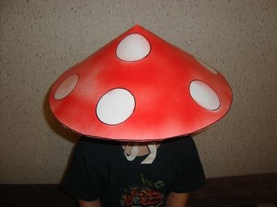 Как сделать шляпку для гриба костюм 129