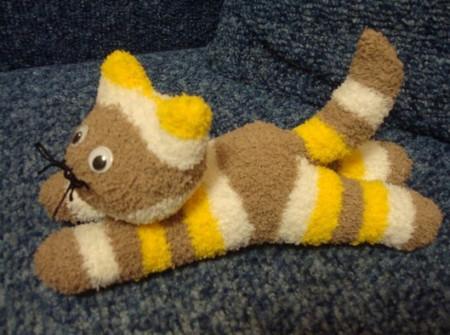 Игрушки из носков мастер класс котенок
