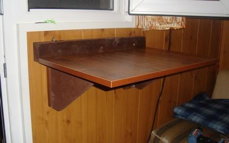 Откидной столик своими руками