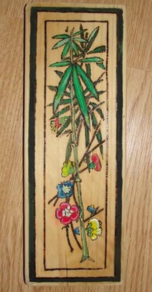 Картина Бамбук и цветы
