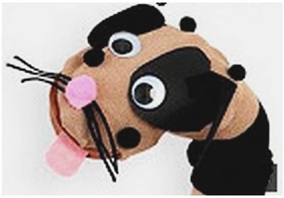 Перчаточная кукла собачка