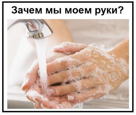 Зачем мы моем руки