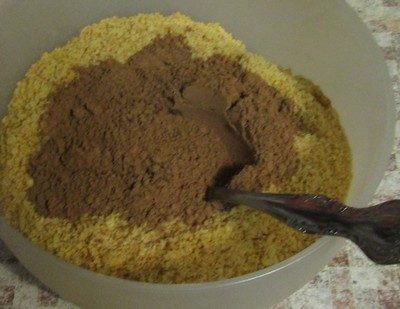 Печенье картошка 3